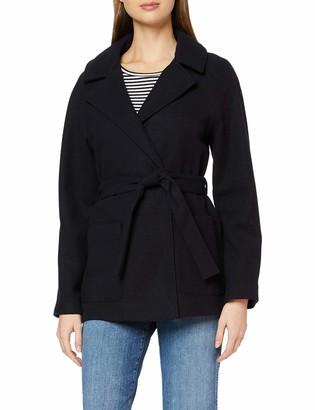 Dorothy Perkins Women's Navy Short Wrap Lightweight Coat 8