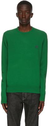 Acne Studios Green Wool Crewneck Sweater