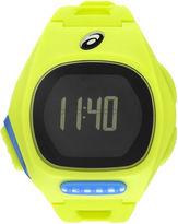 Asics Ar10 Runner Unisex Yellow Strap Watch-Cqar1005y