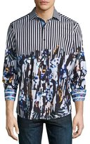 Robert Graham Cayman Island Multi-Print Sport Shirt