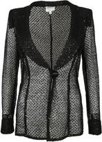 Armani Collezioni Sequined Lace Blazer
