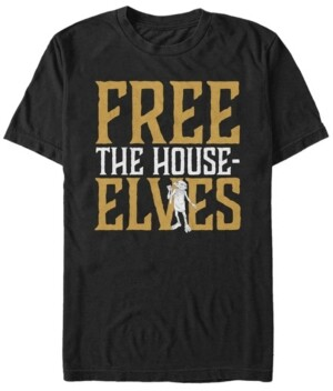 Fifth Sun Harry Potter Men's Dobby Free The House-Elves Short Sleeve T-Shirt