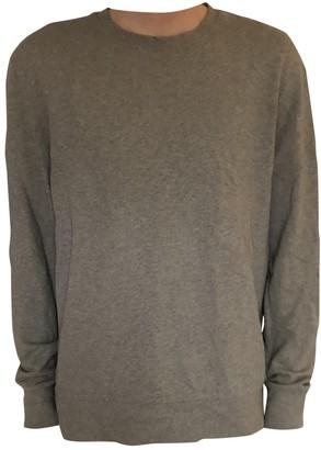 Acne Studios Grey Cotton Knitwear & Sweatshirts