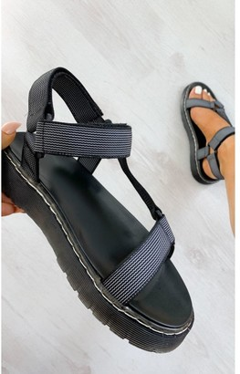IKRUSH Monikh Strappy Velcro Sandals