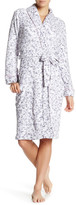 Laura Ashley Long Sleeve Printed Robe