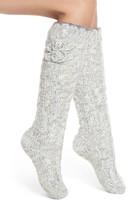 Lemon Women's Floral Blizzard Slipper Socks