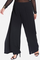 Fashion to Figure Lydia Techno Crepe Wide Leg Pants