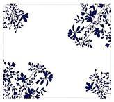 Modern Twist Jardin Silicone Placemat, Midnight Blue