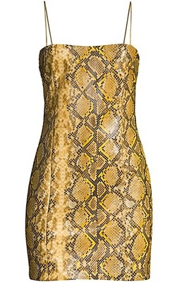 LIKELY Hayley Python-Print Bodycon Dress
