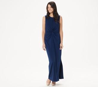 Brooke Shields Timeless BROOKE SHIELDS Timeless Petite Sleeveless Maxi Dress with Twist