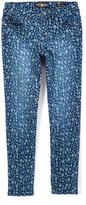 Lucky Brand Dark Indigo Printed Jeans - Girls