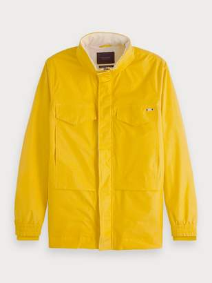 Scotch & Soda Cotton-Nylon Field Jacket