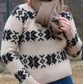 New Scotland Snowflake Crew Sweater