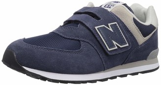 New Balance Unisex Kids Iv574v1 Trainers Blue (Navy) 7.5 UK (25 EU)