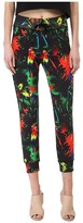Love Moschino Tropical Print Casual Pant