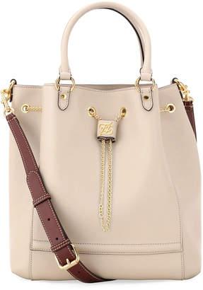 Fendi Grace Calf and King Calf Bucket Bag