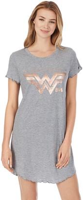 Licensed Character Women's Wonder Woman Graphic Sleepshirt