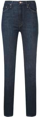 Mother skinny fitted jeans