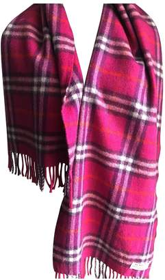 Burberry Pink Cashmere Scarves & pocket squares