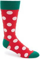 Hot Sox Men's 'Holiday' Dot Socks