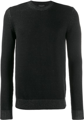 Roberto Collina crew neck sweatshirt