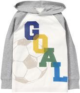 Gymboree Goal Hoodie Tee