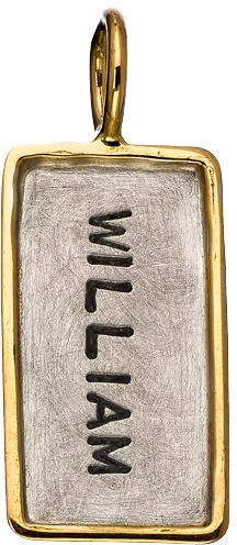 Heather Moore Jewelry Moore Mini ID Tag Charm