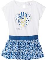 Kanz Short Sleeve Giraffe Dress (Baby, Toddler, Little Girls, & Big Girls)