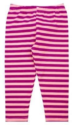 Nannette Baby Girl's Knit Striped Leggings