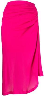 IRO Draped Midi Skirt