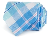 Vineyard Vines Woven Multi Plaid Wide Tie