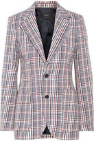Joseph Albert Checked Cotton-tweed Blazer