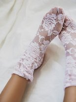Free People Smitten Lace Sock