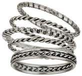 Miss Selfridge Ethnic stack rings