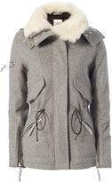 SAM. Devon Shearling Lamb Collar Jacket