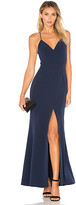 Lovers + Friends x REVOLVE Helena Gown in Navy. - size 0 (also in 2,4,6)