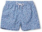 Frescobol Carioca - Acai Mid-length Printed Swim Shorts