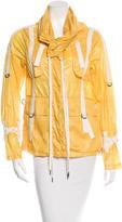 Nicholas K Cowl-Neck Windbreaker Jacket