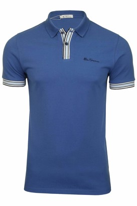 Ben Sherman Men's MOD Stripe Detail Polo Shirt