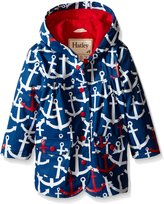 Hatley Little Girls Scattered Anchors Raincoat