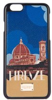 Dolce & Gabbana Firenze Dauphine Leather iPhone 6 Case