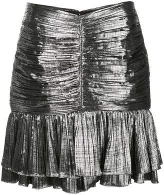 Jonathan Simkhai metallic mini skirt