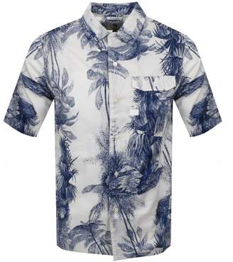 G Star Raw Short Sleeved Service Shirt White