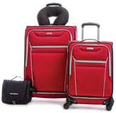 Samsonite Four-Piece Aspire SS Luggage Set