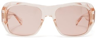 Celine Rectangular Acetate Sunglasses - Light Pink