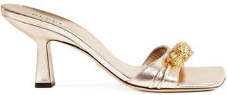 Gucci Tiger embellished sandals