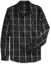 GUESS Men's Clover Mixed Check Shirt