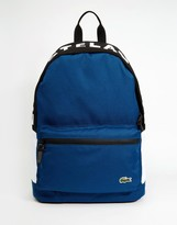 Lacoste Logo Backpack - White