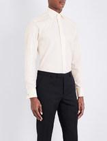 Canali Modern-fit cotton-twill shirt
