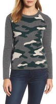 Velvet by Graham & Spencer Women's Camo Cashmere Sweater